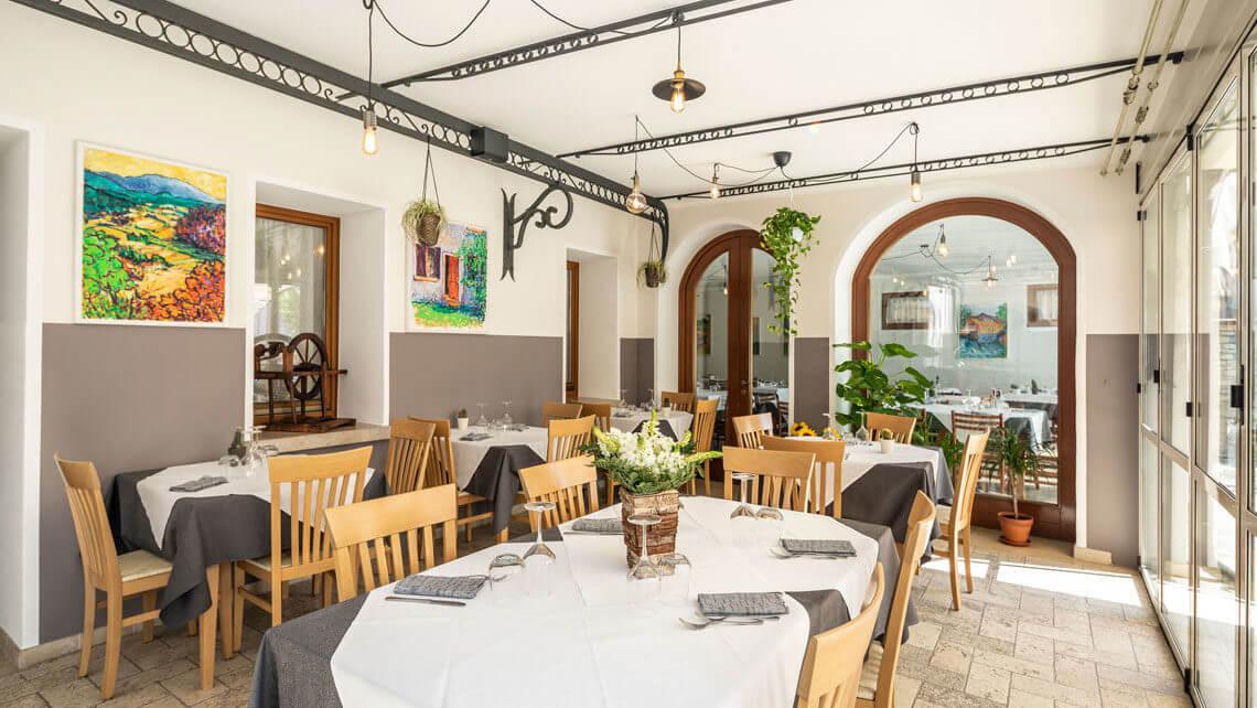interni ristorante Locanda Ai Archi